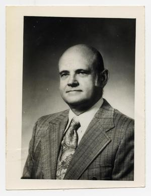 Primary view of object titled '[Portrait of Dr. M. Buran Stewart]'.