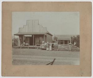 Primary view of object titled '[Photograph of Country Store]'.