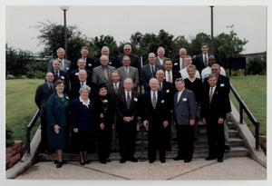 Primary view of object titled '[Photograph of McMurry University Board of Trustees, 1998-1999]'.