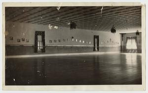 Primary view of object titled '[Photograph of Elmer Wheatly Dance Studio]'.