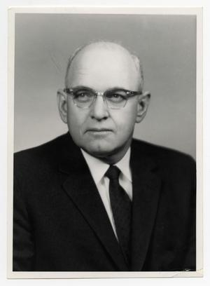 Primary view of object titled '[Photograph of Dr. J. Howard Crawford]'.