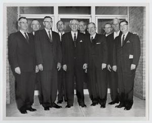 Primary view of object titled '[Photograph of McMurry Board of Trustees, 1962]'.