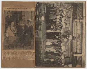 Primary view of object titled '[Photograph of Old Maid's Convention]'.