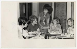 Primary view of object titled '[Photograph of McMurry College Women]'.