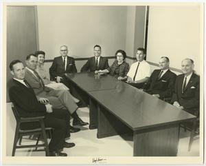 Primary view of object titled '[Photograph of McMurry University Administration]'.