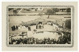 Primary view of object titled '[McMurry College Founders Day, 1935]'.