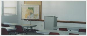 Primary view of object titled '[Photograph of Classroom in Cooke Building]'.
