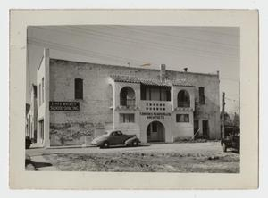 Primary view of object titled '[Photograph of Former Fire Station Building]'.