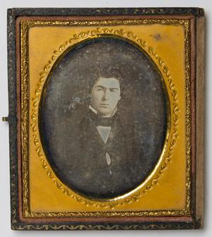 Primary view of object titled '[Portrait of a Man]'.