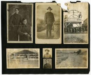 Primary view of object titled '[Photographs of Camp MacArthur in Waco, Texas]'.