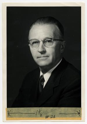Primary view of [Photograph of Dale Resler]