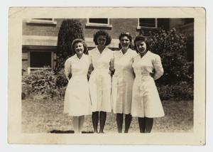 Primary view of object titled '[Photograph of Hillcrest Baptist Hospital Student Technicians]'.