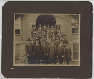 Primary view of object titled '[Photograph of Meharry Medical College Students]'.