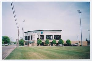 Primary view of object titled '[Photograph of McMurry University Driggers Field]'.