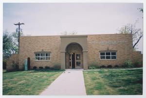 Primary view of object titled '[Photograph of Chapin Art Building]'.
