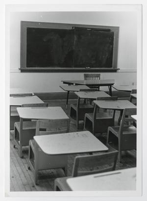 Photograph of Student Desks