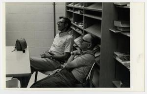 Primary view of object titled '[Photograph of Dr. Ben Pilcher and Pat Bennett]'.