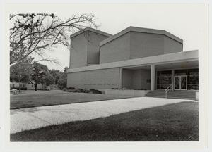 Primary view of object titled '[Photograph of Amy Graves Ryan Fine Arts Center]'.