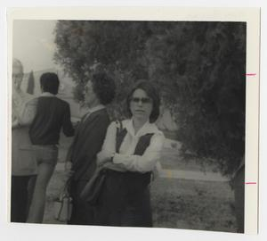 Primary view of object titled '[Photograph of Mary Buzan]'.