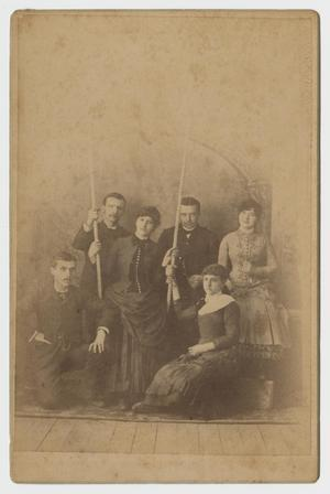 Primary view of object titled '[Portrait of a Group of People]'.