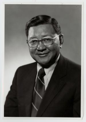 Primary view of object titled '[Portrait of Dr. Thomas Kim]'.