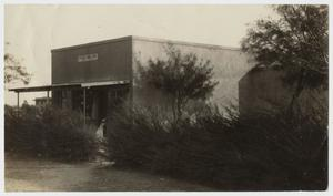 Primary view of object titled '[Photograph of McMurry Bookstore]'.