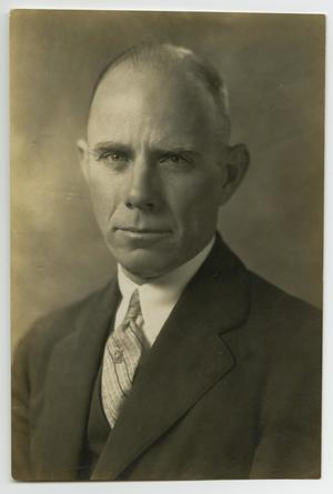 Primary view of object titled '[Portrait of Robert B. Wylie]'.