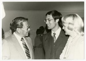 Primary view of object titled '[Photograph of Dr. Thomas Kim and Dr. Gary Shanafelt]'.
