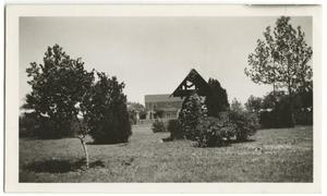 Primary view of object titled '[Photograph of McMurry Campus]'.
