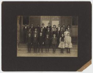 Primary view of object titled '[Photograph of Brook Avenue Elementary School Students]'.