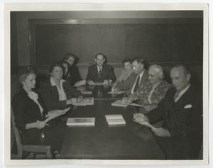 Primary view of object titled '[Photograph of McMurry Faculty and Administration]'.