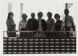 Primary view of object titled '[Photograph of Library Staff]'.