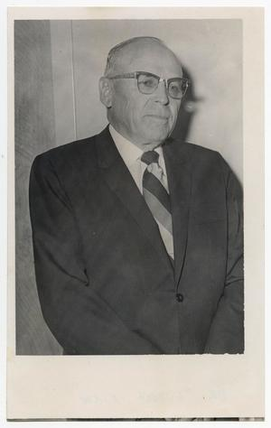 Primary view of object titled '[Photograph of Dr. Luther Kirk]'.