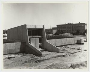 Primary view of object titled '[Construction for the Campus Center]'.