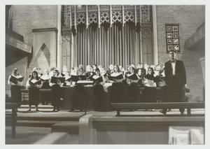 Primary view of [Photograph of Chanters' Concert]