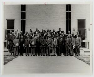 Primary view of object titled '[Photograph of McMurry College Board of Trustees, 1972-1973]'.