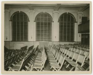 Primary view of object titled '[Photograph of Auditorium in the Administration Building]'.