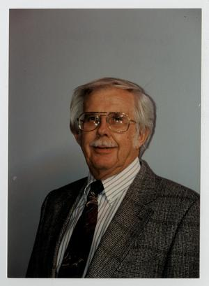 Primary view of object titled '[Photograph of Kenneth Metzger]'.