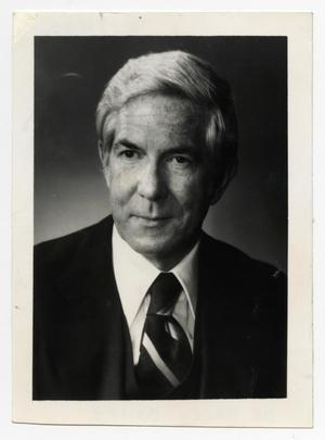 Primary view of object titled '[Portrait of Dr. Barry Bailey]'.