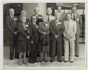 Primary view of object titled '[Photograph of McMurry College Board of Trustees]'.