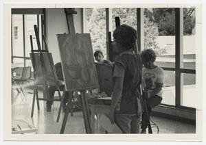 Primary view of object titled '[Photograph of Art Class]'.