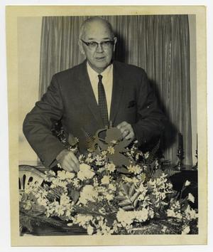 Primary view of object titled '[Photograph of Dr. George Steinman]'.