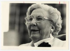 Primary view of object titled '[Photograph of Ruth Leggett Jones]'.