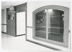 Primary view of object titled '[Photograph of Window Exhibit Case]'.
