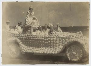 Primary view of object titled '[Photograph of Parade Float]'.