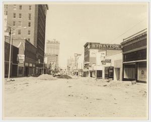Primary view of object titled '[Photograph of Austin Avenue in Waco, Texas]'.