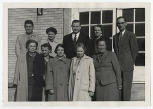 Primary view of object titled '[Photograph of McMurry College Faculty and Staff]'.