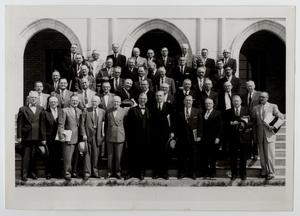 Primary view of object titled '[Photograph of McMurry Board of Trustees, 1956]'.