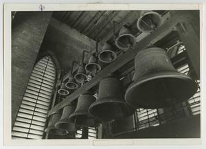 Primary view of object titled '[Photograph of Carillon at McMurry College]'.