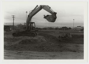 Primary view of object titled '[Photograph of Excavation for Recreation Center]'.
